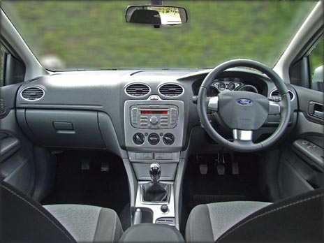 Dual Control Ford Focus - Inside